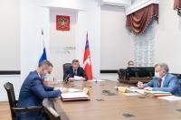 Защита жителей Волгоградской области от COVID-19: Андрей Бочаров провел заседание оперативного штаба