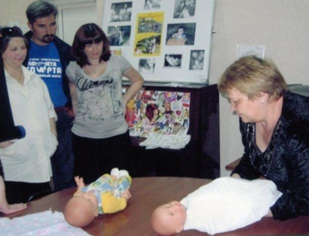 Уход за ребенком первого года жизни