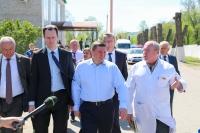 Андрей Бочаров проинспектировал работу отделений Урюпинской ЦРБ