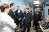 Андрей Бочаров проинспектировал реализацию проекта «Бережливая поликлиника»