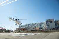 Волгоградская крылатая скорая помощь доставила еще одного пациента из Астраханской области