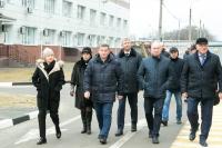 Андрей Бочаров проинспектировал ход строительства нового корпуса онкоцентра