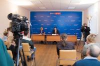 Председатель Облздрава Владимир Шкарин озвучил достижения здравоохранения в 2016 году и обозначил перспективы развития отрасли в пресс-центре