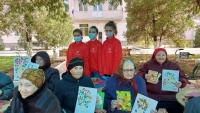 Получателей социальных услуг поздравили с Международным днём пожилого человека