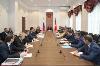 Андрей Бочаров актуализировал задачи по реализации национальных и приоритетных региональных проектов развития