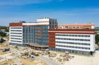 В Волгоградской области новый корпус онкоцентра готов на 80%