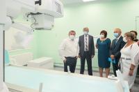 Андрей Бочаров: завершена первая очередь новой инфекционной больницы