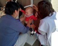 В преддверии дня знаний в Волгограде прошла профилактическая акция «Здоровая семья – счастливые дети»