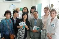 Делегация из японского города-побратима оценила работу волгоградской клинико-диагностической лаборатории