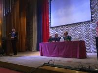 Председатель Облздрава Владимир Шкарин принял участие в отчетной встрече главы Палласовского муниципального района с активом и жителями