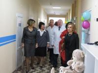 В Урюпинской ЦРБ после капитального ремонта открыты детское и хирургическое отделения
