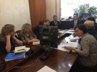 Заместитель губернатора Волгоградской области Владимир Шкарин принял участие  в видеоселекторном совещании Минздрава России