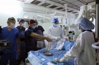 Без разрезов и наркоза: хирурги ВолгГМУ освоили новый метод удаления тромбов