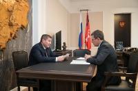 Андрей Бочаров и Владимир Гурба провели рабочую встречу