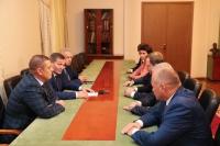 Андрей Бочаров провел встречу с членами комиссии Совета Федерации по вопросам подготовки и проведения чемпионата мира по футболу в 2018 год class=