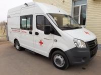 В соцучреждения Волгоградской области поступил автотранспорт для перевозки лежачих пациентов