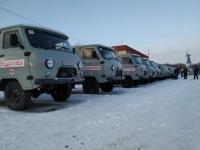 В больницы Волгоградской области направлена третья партия санитарных автомобилей