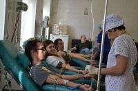 В Волгоградской области активно развивается донорское движение