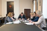 Андрей Бочаров провел рабочее совещание по совершенствованию социальной помощи населению
