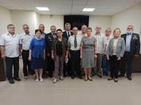 В преддверии дня России в Облздраве чествовали медиков-ликвидаторов аварии на Чернобльской АЭС