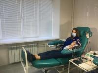 Добровольцы Волгоградской области сдают кровь для тяжелобольных пациентов