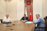 Андрей Бочаров принял участие в заседании государственного антинаркотического комитета