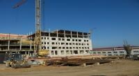 В Волгоградской области новый корпус онкоцентра вырос до семи этажей