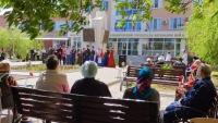 Праздничный концерт состоялся в госпитале ветеранов войн накануне Дня Победы
