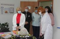 В интернатах для пожилых в Волгоградской области проводят повторную вакцинацию