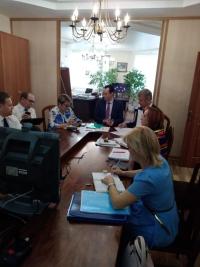 Заместитель Губернатора Волгоградской области Владимир Шкарин принял участие в видеоселекторном совещании с Минздравом
