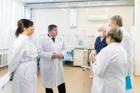 Андрей Бочаров: средств, оборудования и препаратов достаточно — мы создаем дополнительный резерв