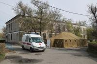 В волгоградских госпиталях сворачивают палатки отделений первичного осмотра