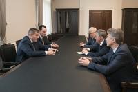 Андрей Бочаров провел рабочую встречу с Сергеем Краевым