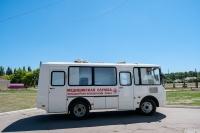В районы Волгоградской области поступили четыре передвижных ФАПа