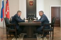 Андрей Бочаров поставил дополнительные задачи по развитию системы здравоохранения области перед своим заместителем