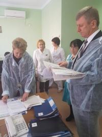 Инспектирование больниц скорой помощи продолжается