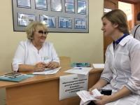 В Волгоградской области для выпускников медколлежда провели ярмарку вакансий