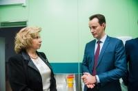Уполномоченный по правам человека в РФ Татьяна Москалькова высоко оценила организацию медицинской помощи  в клинической больнице скорой медицинской помощи №25