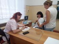 В Волгоградской области юных жителей отдаленных поселков в модулях здоровья обследуют врачи ведущих клиник