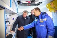 Районам Волгоградской области переданы 70 школьных автобусов и 25 «скорых»