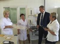 Руководители областного здравоохранения проинспектировали Центр крови