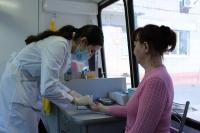 В Волгоградской области продолжают работать мобильные диагностические комплексы