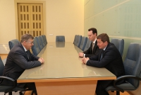 Прошла рабочая встреча Андрея Бочарова и Сергея Краевого