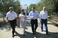 Андрей Бочаров проводит рабочую поездку в Суровикинский район