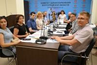 Сегодня в комитете здравоохранения состоялось совещание в рамках развития гериатрии Волгоградской области.