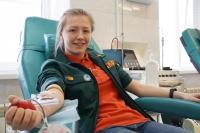 Волгоградские студенческие отряды приняли участие в донорской акции «Помоги делом!»