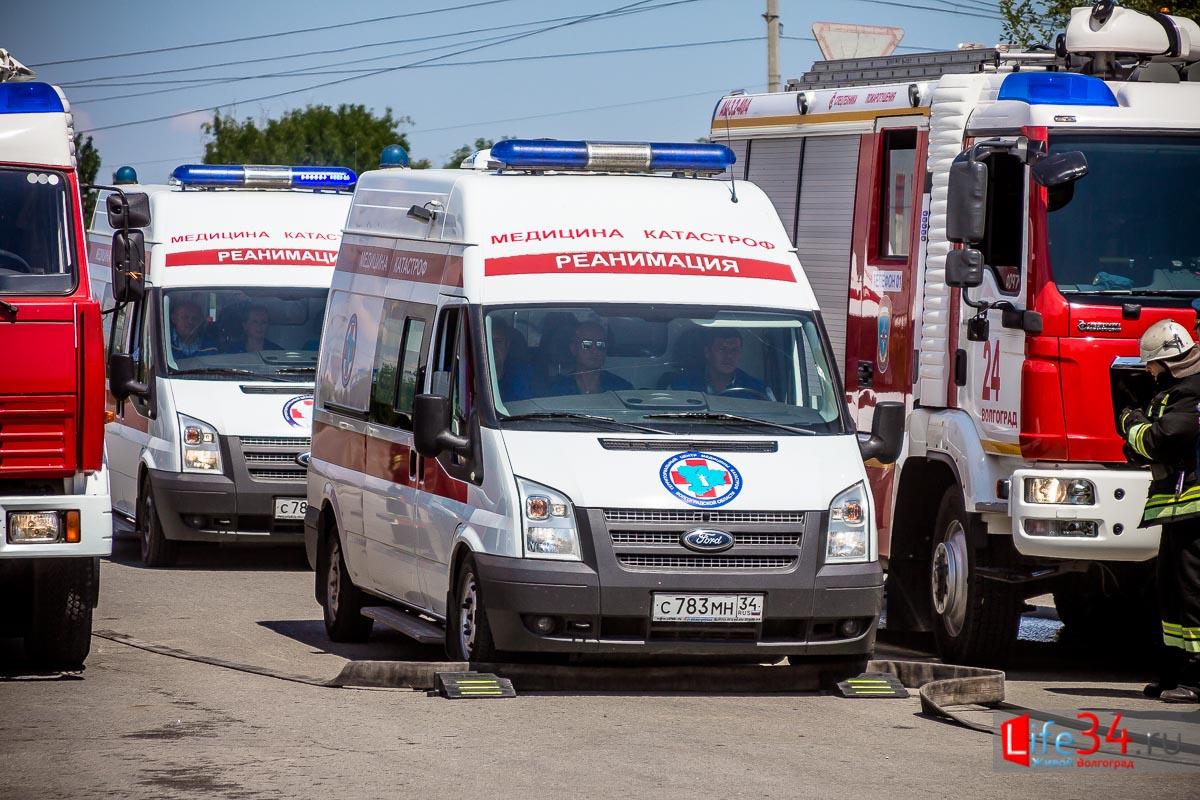 Специалисты медицины катастроф спешат на помощь!