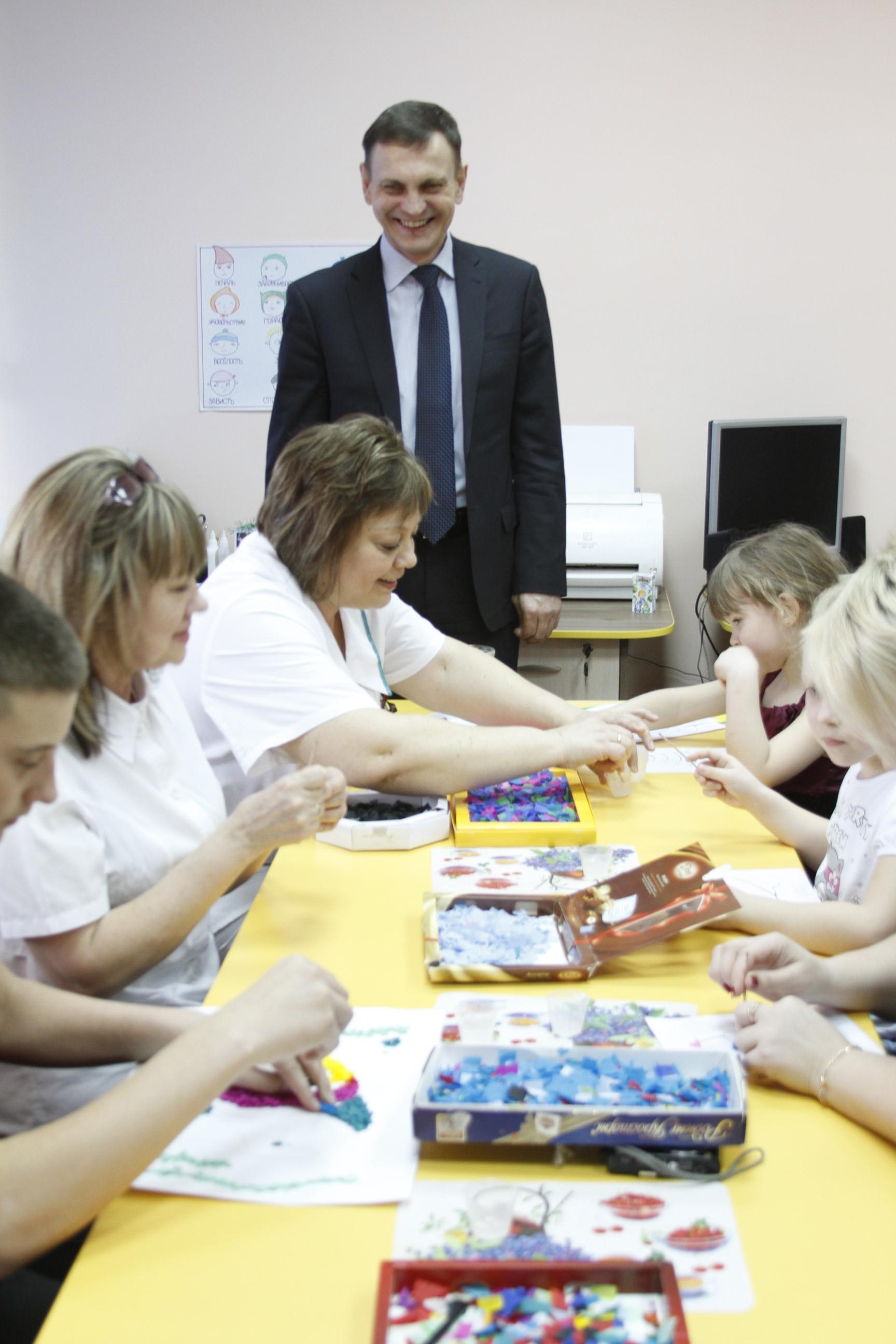 В реабилитационном центре для детей-инвалидов в Волгоградской области открыта водолечебница