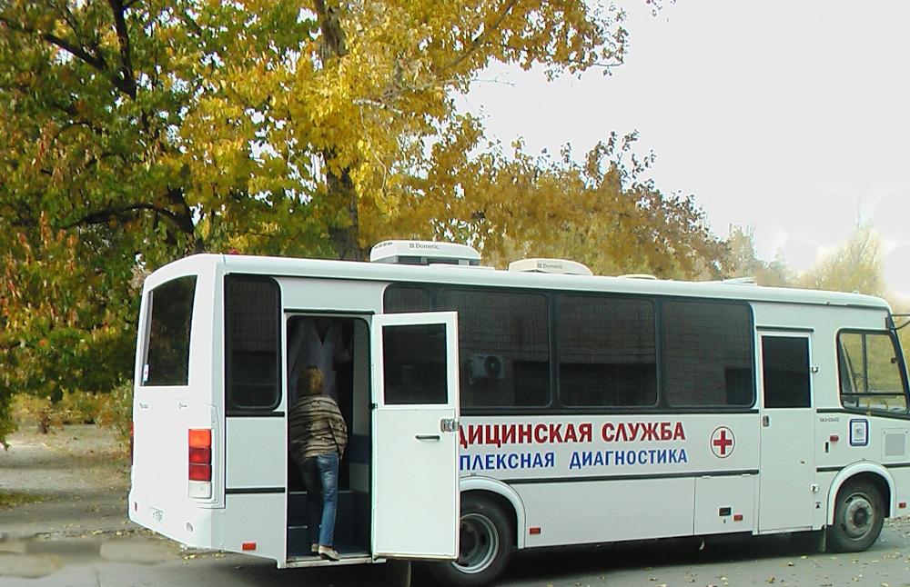 Мобильные врачи проверят здоровье жителей поселка
