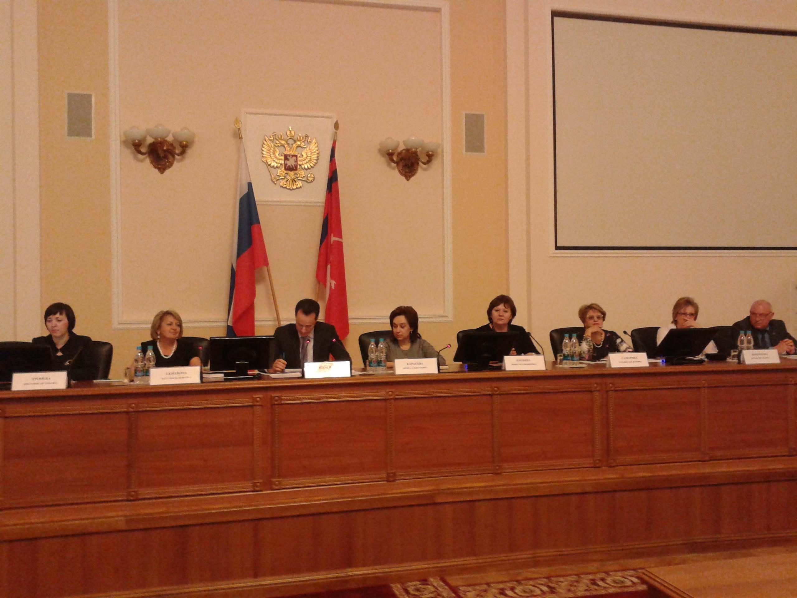 Председатель облздрава Владимир Шкарин провел ежемесячное совещание с главными врачами